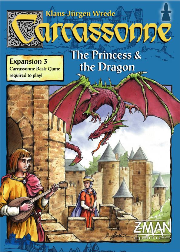 Slikovni rezultat za carcassonne princess and dragon